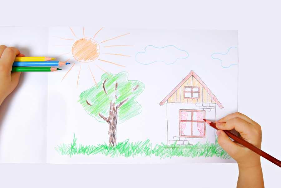 dibuja-casa-arbol
